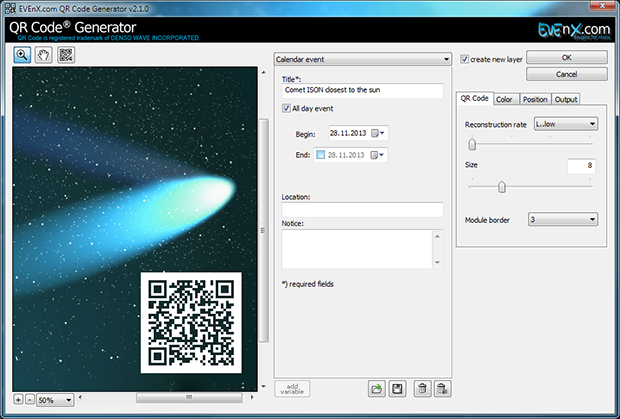 Product image of QR Code generator plugin for Adobe Photoshop