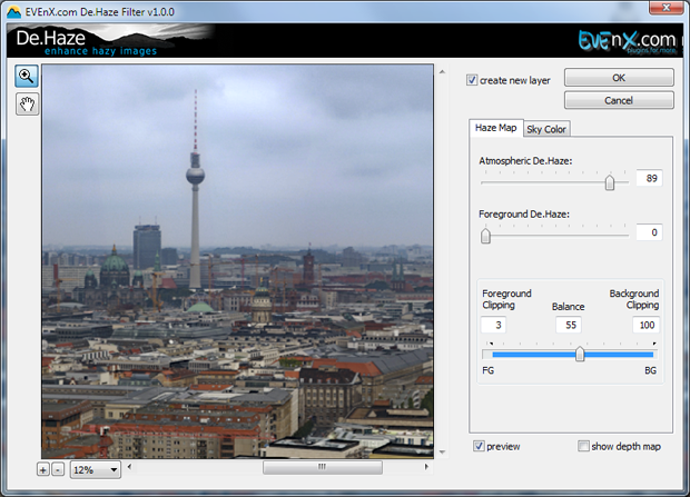 Product image of De.Haze plugin for Adobe Photoshop