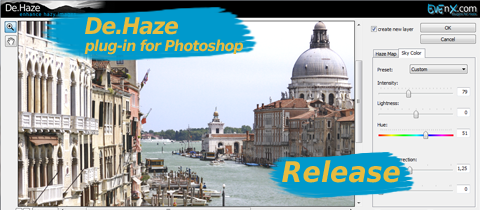 RELEASE: De.Haze Plugin 1.0.3 for Adobe Photoshop (Windows and Mac)