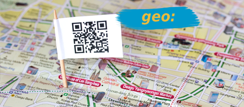 GEO tagging using QR Codes