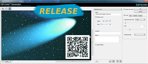 RELEASE: QR Code Generator Plugin 2.2.0 for Adobe Photoshop (Windows and Mac)